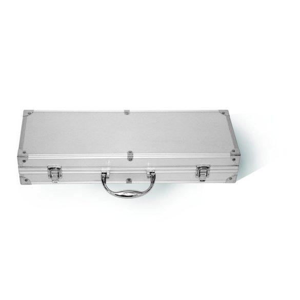 ACTIVA rozsdamentes grillkészlet 5 db-os ALU kofferben