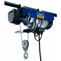 Scheppach HRS 400 elektromos drótköteles csörlő-emelő 4906905000