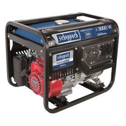 Scheppach SG 3500 3 500 w áramfejlesztő avr szabályozással és honda motorral 5906209901