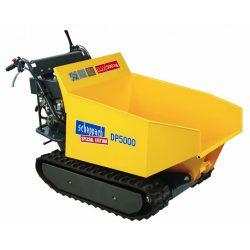Scheppach DP 5000 -hernyőtalpas szállítógép hidraulikus billenéssel 5908801903
