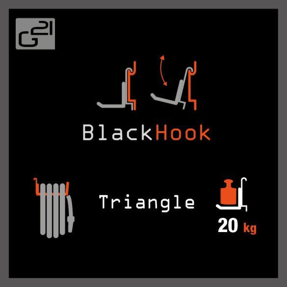 G21 felfüggesztési rendszer BlackHook triangle 18 x 10 x 25,7 cm