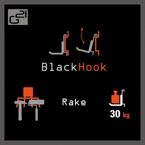 G21 felfüggesztési rendszer BlackHook rake 21x13 cm