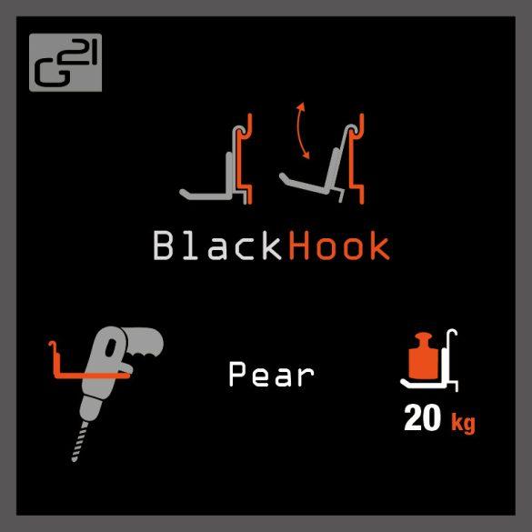 G21 felfüggesztési rendszer BlackHook pear 21x12 cm