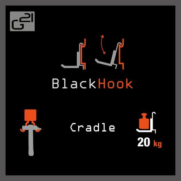 G21 felfüggesztési rendszer BlackHook cradle 14,5x7,5 cm