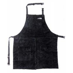 BBQ Master hőálló bőr grillkötény