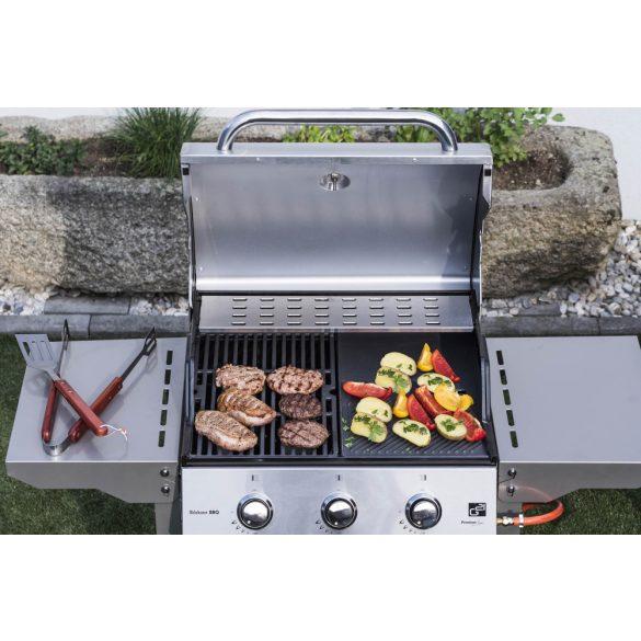 Oklahoma BBQ Premium line gázgrill, 3 égőfej + ajándék nyomáscsökkentő