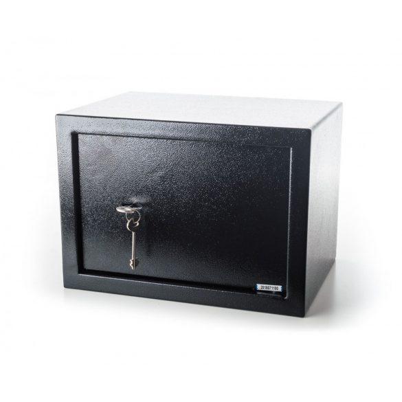 G21 széf kulcsos zárral 350 x 250 x 250 mm