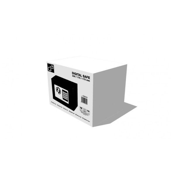 G21 Digitális széf 230x170x170mm