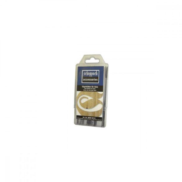 Scheppach Fűrészlap dekopírfűrészhez (box 5 x 12 db) 88000010