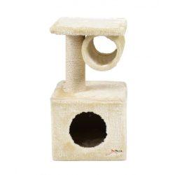 hecht cube b kaparófa macskáknak, beige kert és hobbi CUBEB