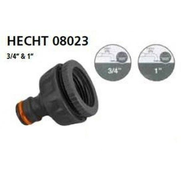 """hecht locsoló tömlővég csatlakozó 3/4"""" & 1"""" kert és hobbi HECHT08023"""