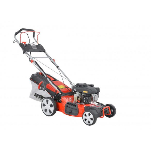 hecht benzinmotoros fűnyíró 46cm munkaszélesség, önjáró, 5in1, önindítós kert és hobbi HECHT547SWE