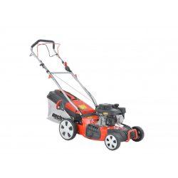 hecht benzinmotoros fűnyíró 46cm munkaszélesség, önjáró, 5in1 mulcsozó kert és hobbi HECHT547SXW