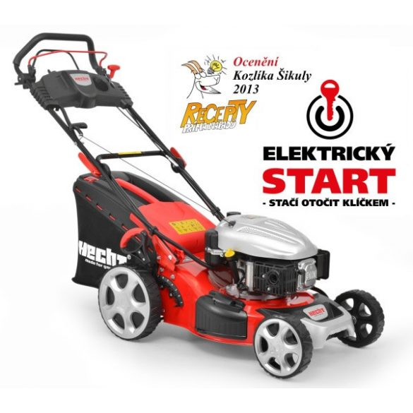 hecht benzinmotoros fűnyíró 46cm munkaszélesség, önjáró, önindítós kert és hobbi HECHT548SWE5IN1