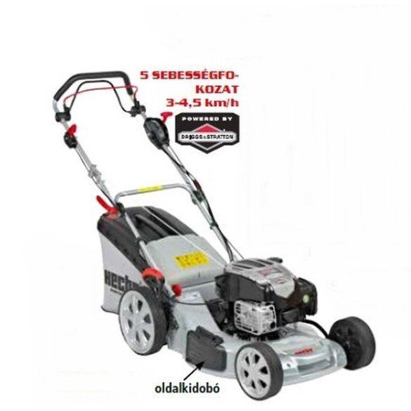 hecht benzinmotoros fűnyíró 51cm munkaszélesség, önjáró, mulcsozó, briggs motor kert és hobbi