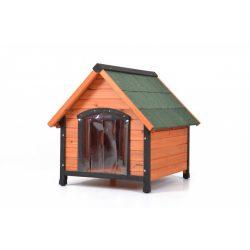 hecht kezelt fenyőfa kutyaház szellőzéssel 88*78*81 kert és hobbi MIKESD