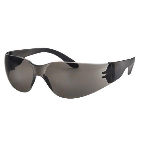 Védőszemüveg, uv-álló, füst-színű